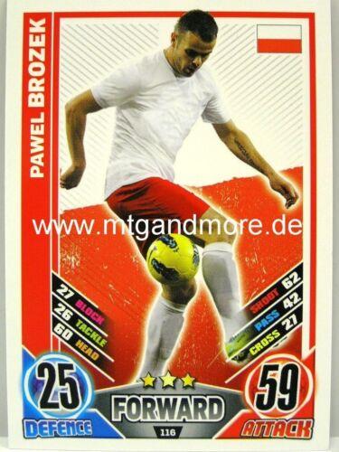 #116 pavel Brozek-pologne Match ATTAX Euro EM 2012