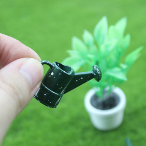 1 Set dollhouse miniature toy mini watering pot+scissors+shovel toolKPFBs!