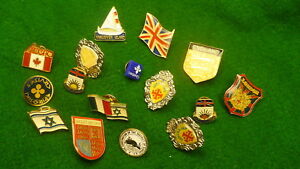 Lot-collection-travel-tac-pins-Canada-Israel-Cruise-line-amp-Great-Britain-16-4