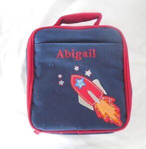 Pottery Barn Kids Preschool Rocket Lunch Bag Quot Abigail