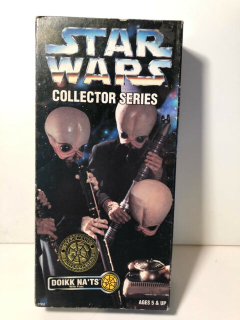 "New Kenner Star Wars Collector Series 12/"" Cantina Band Doikk Na/'ts Figure Sealed"