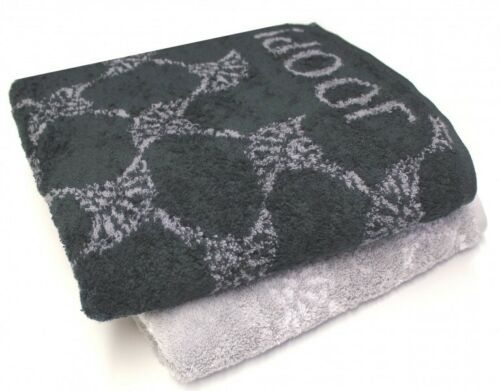 Joop 1611 Cornflower serviettes duschtücher sauna foulards invités foulards black white