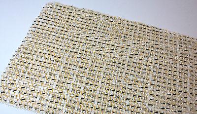 2,9m Stoff Boucle für Blazer Rock weiß gelb Lagerräumung günstig 2058