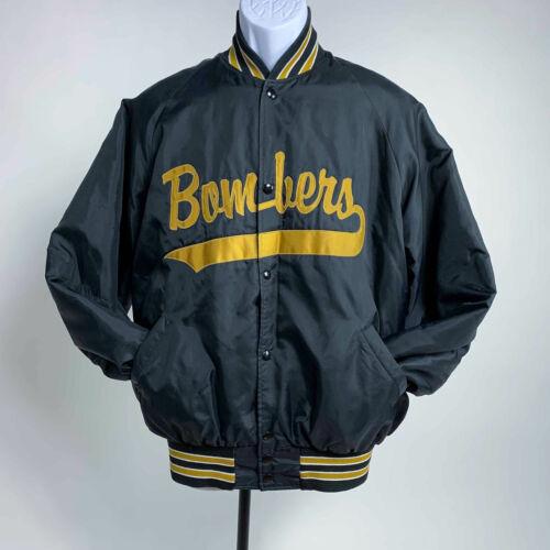 Vintage Bombers Satin Bomber Jacket XL
