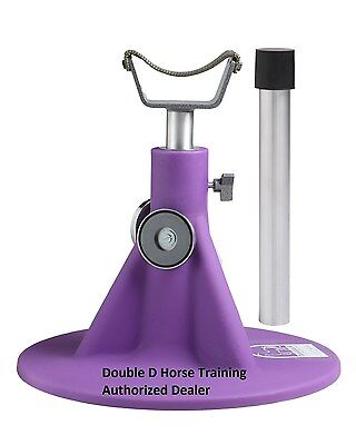 PURPLE HOOFJACK Horse SIZE farrier stand, Hoof Jack Trimming Shoeing barefoot