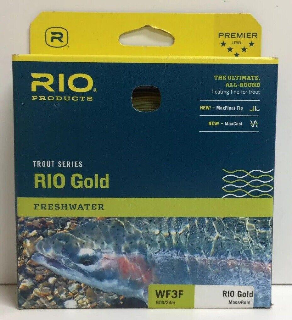 New RIO Rio oro Fly Line  Mossoro  WF3F  80 ft