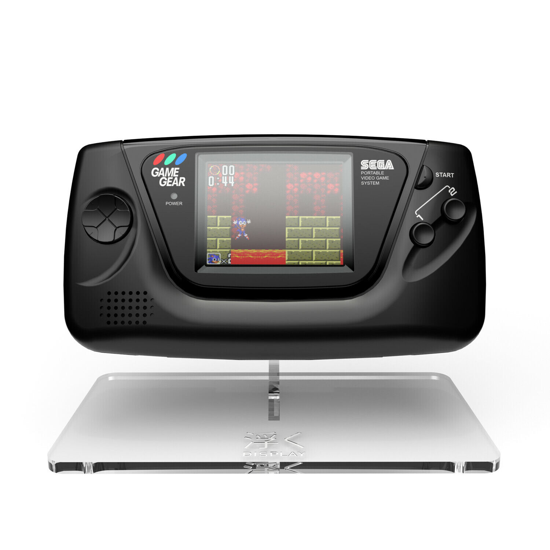 Game Gear Display Stand Acrylic Floating Clear Uku RetroSix Sega