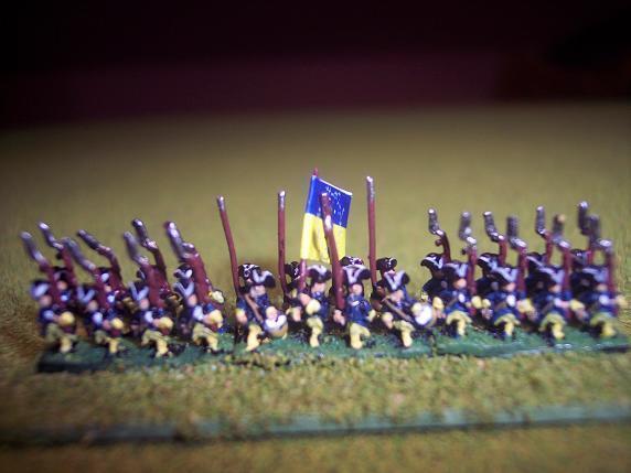 6mm Great Northern War Swedish Army