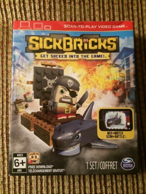 Sick Bricks Captain Blockhead Vs Greatbite Shark New!!!