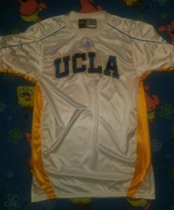 newest aee0a 57231 Details about UCLA Adidas Team Issued Basketball Jersey Authentic warmup  shooting shirt