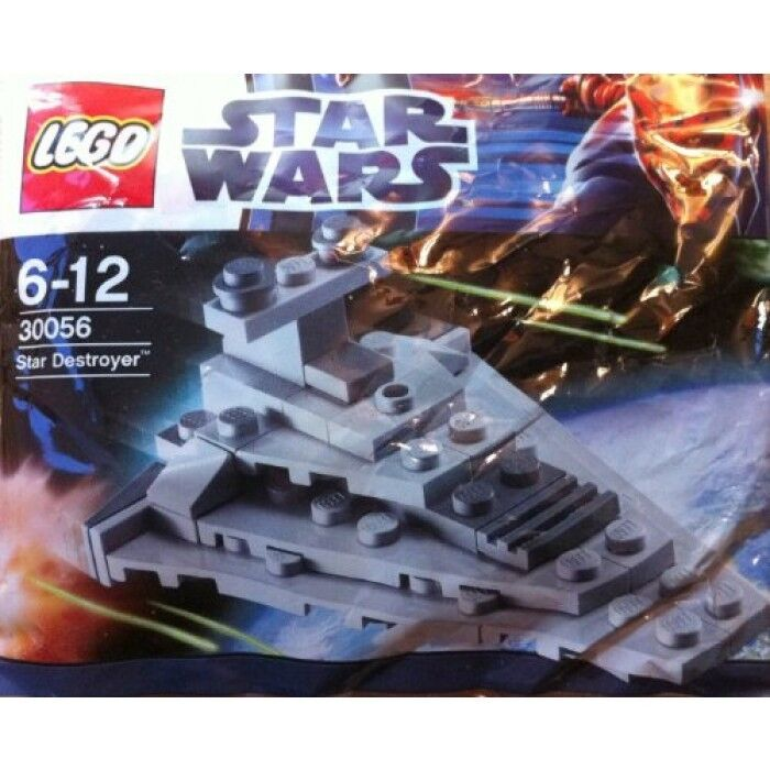 RARE & In Retail Pkg LEGO STAR WARS Clone Wars 30056 Imperial Star Destroyer