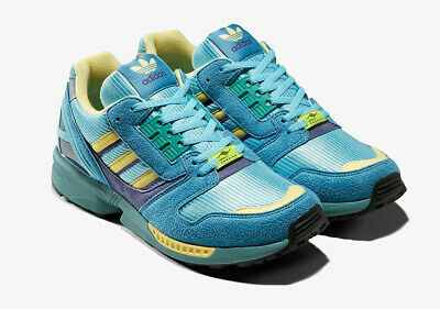 Adidas ZX 8000 OG Light Aqua Vert Sand UK 5 7 8 9 10 11 US | eBay