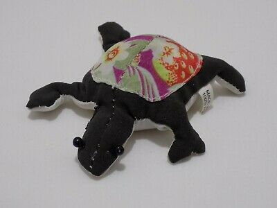 Sand Filled Stuffed Animals, Sand Filled Turtle Stuffed Animal Toy Character Dark Green Floral Pattern Shell Ebay