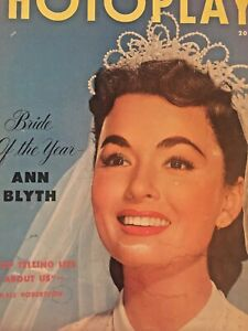 Vintage-Collectible-Movie-Magazine-Photoplay-Ann-Blyth-Cover-June-1953