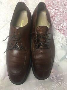 Salvatore-Ferragamo-Studio-Brown-Split-Toe-Lace-Shoes-10-5-D