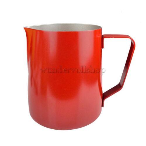 Edelstahl Aufschäumkännchen Kaffee Milchkännchen 600ml