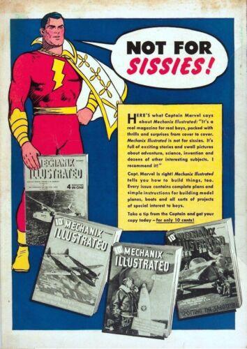 America/'s Greatest Comics #2 Photocopy Comic Book Bulletman Marvel Capt