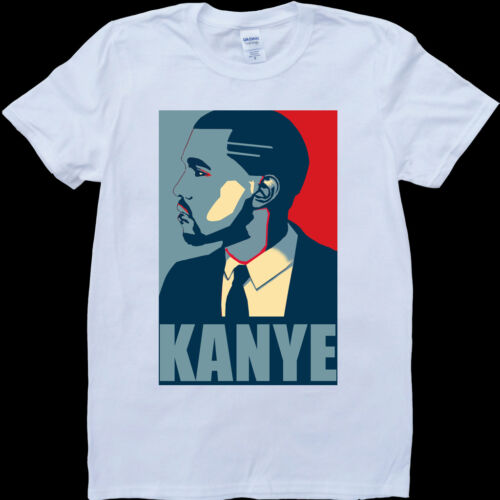 Kanye West Poster White Custom Made T-Shirt