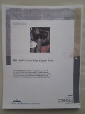 DOCUMENT RECTO VERSO TRANSAERO GENTEX MBU-20/P COMBAT EDGE OXYGEN MASK