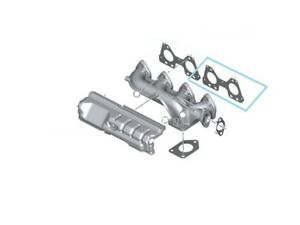NEW-BMW-EXHAUST-MANIFOLD-STEEL-GASKETS-N47S-N47S1-ENGINE-11628509783