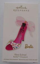 Hallmark 2012 Barbie Shoe Licious High Heel Christmas Keepsake Ornament