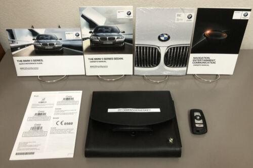 2013 BMW 5 Series 528i 535i 550i xDrive Sedan OEM Owner's Manual w ...