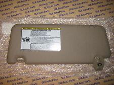 Toyota Tacoma Passenger Side RH Tan Vinyl Sun Visor With Mirror  NEW 2005-2014