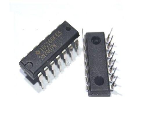 5pcs DIP IC SN7407N SN7407