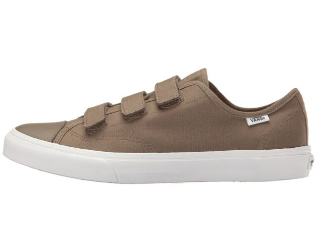 7ee63647bfe Vans Off the Wall Style 23 V Prison Style Canvas Walnut Brown Mens 11.5  Shoes