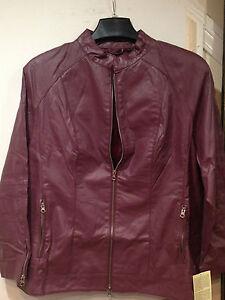 Women-039-s-winter-fall-Spring100-genuine-soft-leather-light-jacket-coat-plus1X2X3X