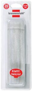 Tv- & Heim-audio-zubehör 1164330 SchöN Und Charmant Logisch Brennenstuhl Klett-kabelbinder Weiß 12mm X 200mm