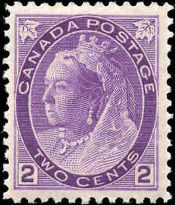 1898-Mint-NH-Canada-F-vf-Scott-76-2c-Queen-Victoria-Numeral-Issue-Stamp
