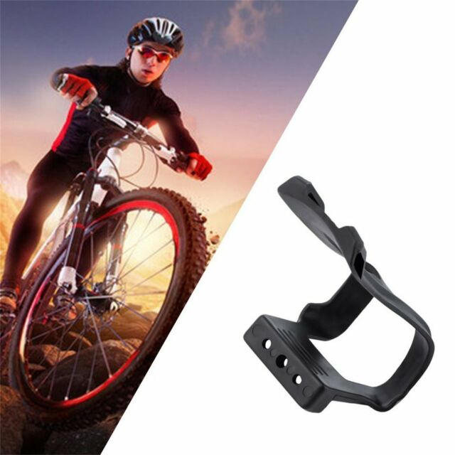 1 Pair New Cycling Bicycle Bike Strapless Toe Pedal Clips Half Clips Black AU Xb