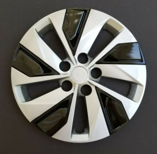 """One New Wheel Cover Hubcap Fits 2019-2020 Nissan Altima 16/"""" Silver Black"""