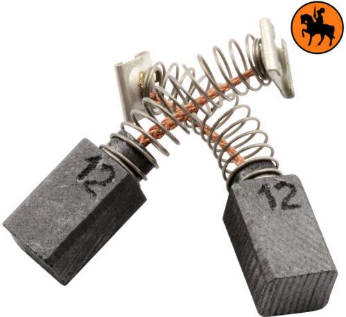 Balais de Charbon pour Hitachi Scie C 5Y 6,5x7,5x12mm