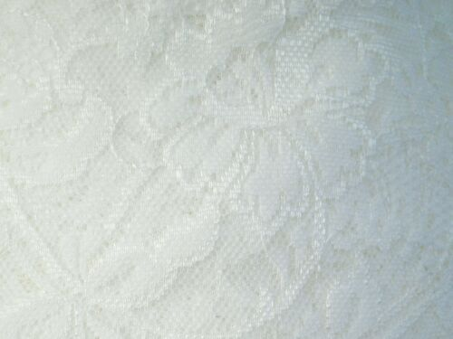 3 Metres length of ivory single edge lace Approx.175mm or 17.5cm wide