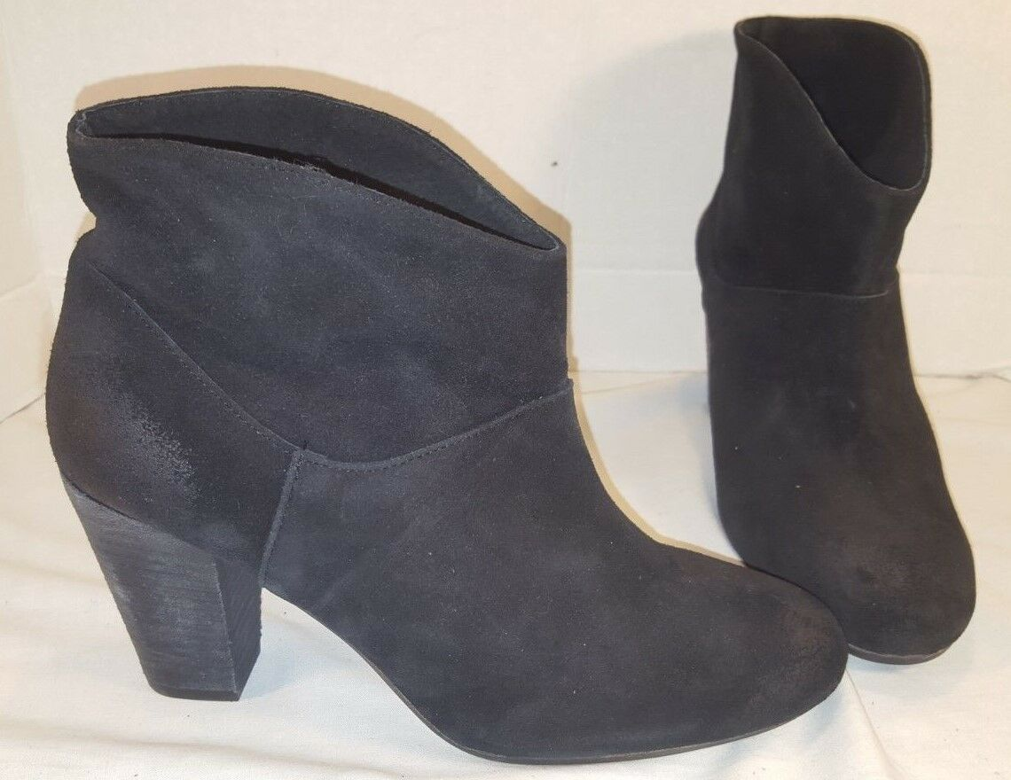NEW JEFFREY CAMPBELL FREE PEOPLE WESTMONT BLACK HEEL BOOTS WOMENS US 9