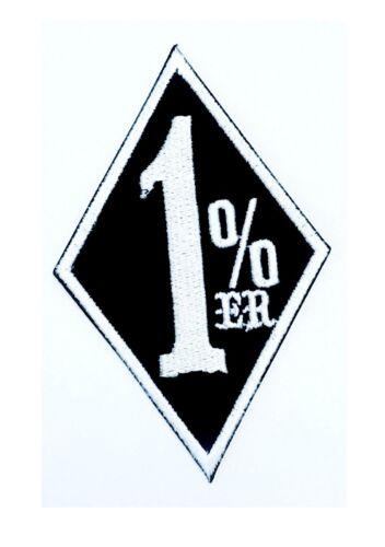 Un écusson Aufbügler Patch 1/% Rocker Motard Harley 4 Variantes De Couleur