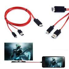 Micro USB MHL HDMI 1080P HDTV AV Cable Adapter For Samsung Galaxy Tab 3 10.1 8.0