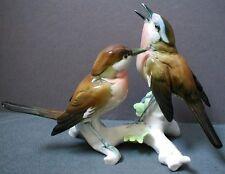 KARL ENS PORCELAIN BIRD FIGURE - WARBLER