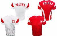 Polska Soccer Youth Jersey Poland Country Polish Eagle National Pride