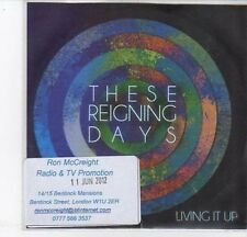 (DC733) These Reigning Days, Living It Up - 2012 DJ CD