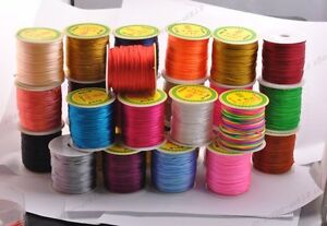 1Roll-Chinese-Knot-Nylon-Beading-Thread-String-Jewelry-Cords-2MM-26-Colour