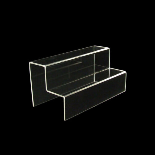 1409 Acryltreppe 2 Stufen 160x160x320 mm ordnen Sammlerstücke präsentieren