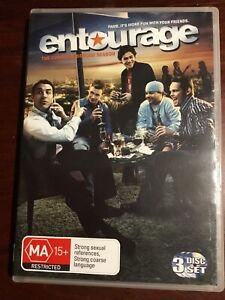 ENTOURAGE-Complete-Second-Season-Good-Condition-3-DVDs-R4-PAL