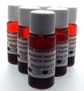 Rouge santal Herbal perfusé rituel BOTANIQUE encens Huile-afficher le titre d`origine jGGyy8C4-07184514-244386647