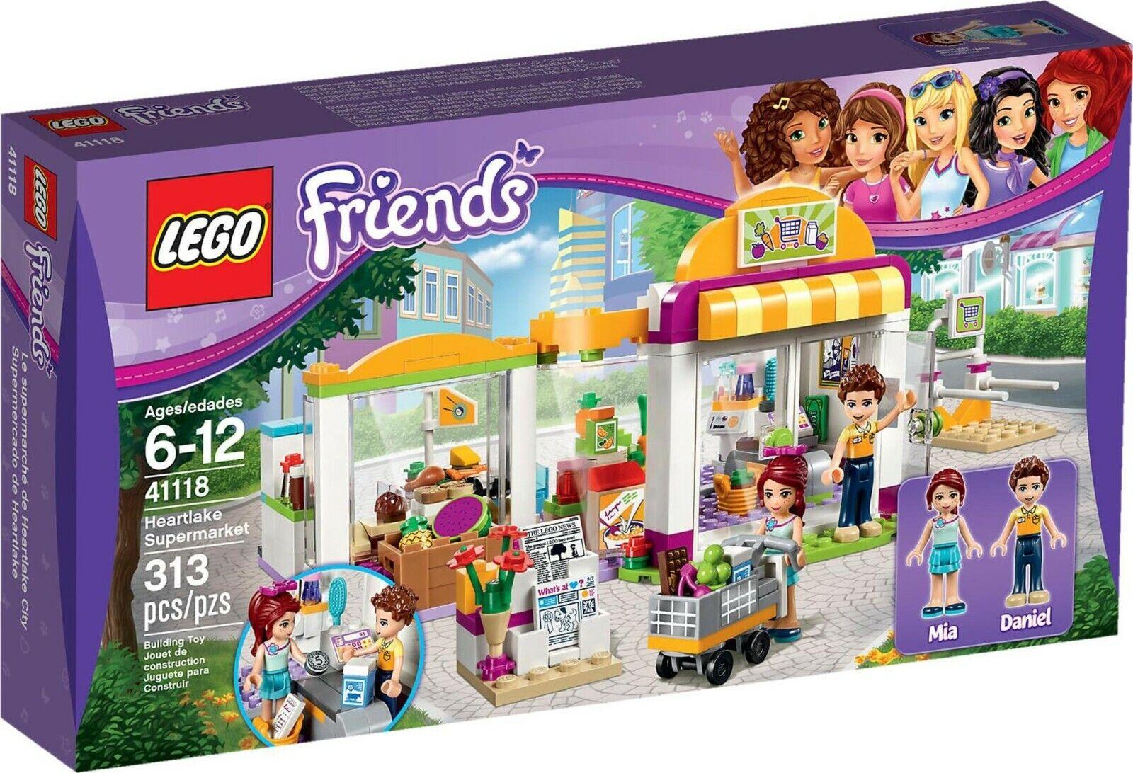 LEGO Friends 41118  Il Supermercato di Heartlake NUOVO
