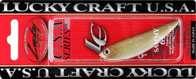 5,8 g 6,5 cm Lucky Craft Sammy 65 K/öder aurora gold northern perch