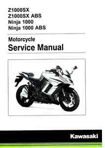 2012-2016 kawasaki ex650 ninja 650 motorcycle service manual.