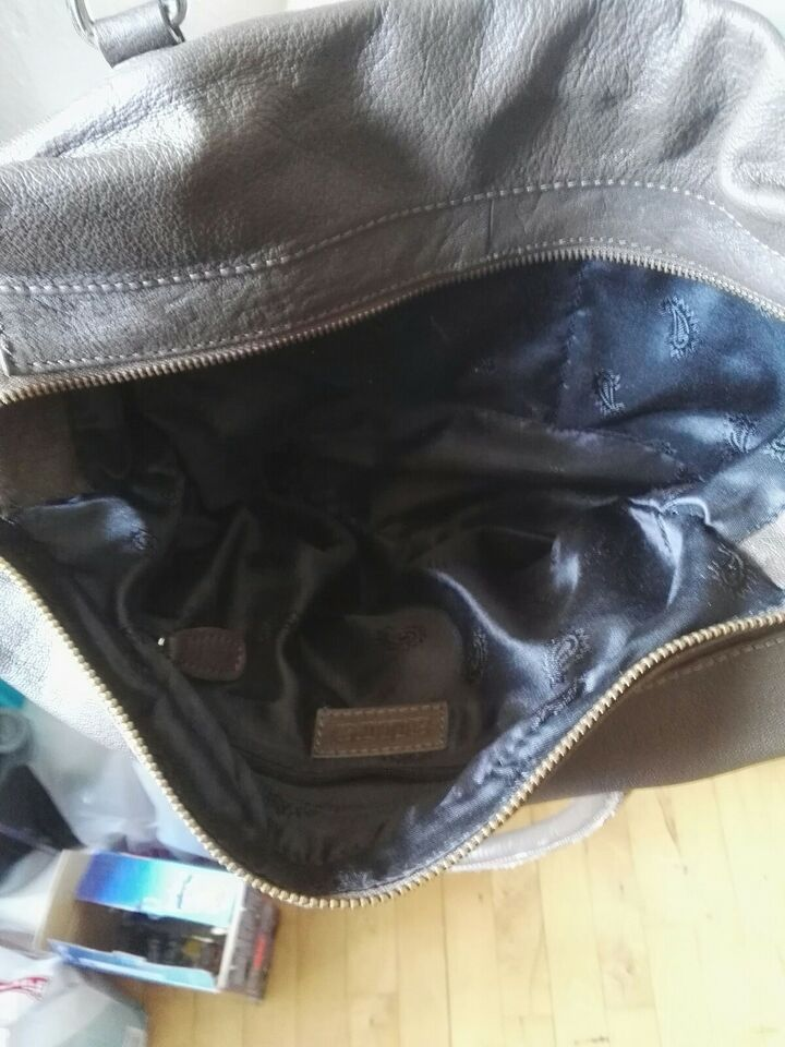 Anden håndtaske, andet mærke, skind